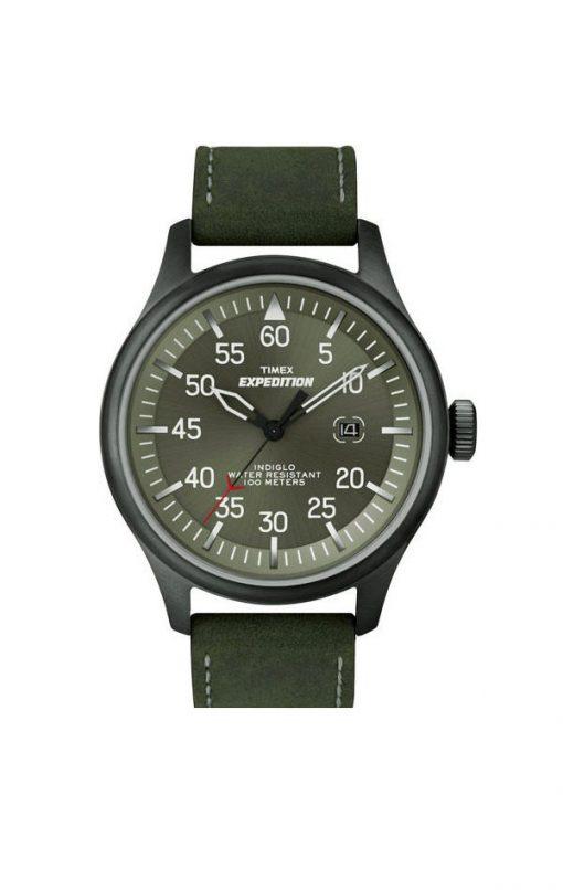 grön militärklocka