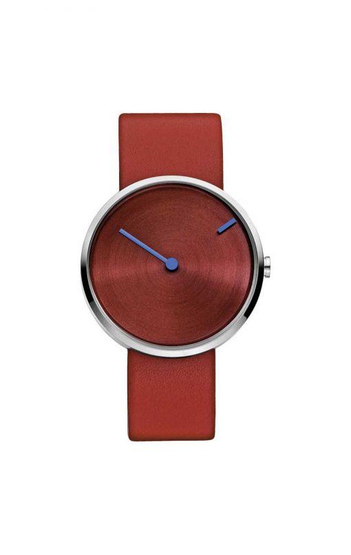 Rött armbandsur