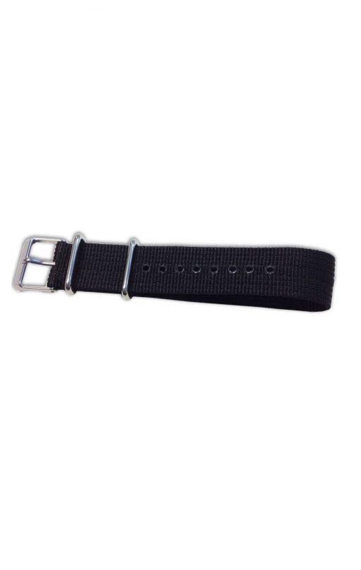 Svart armband nylon