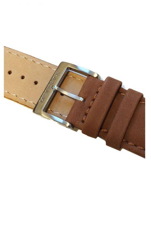 Läderarmband mondaine 20 mm