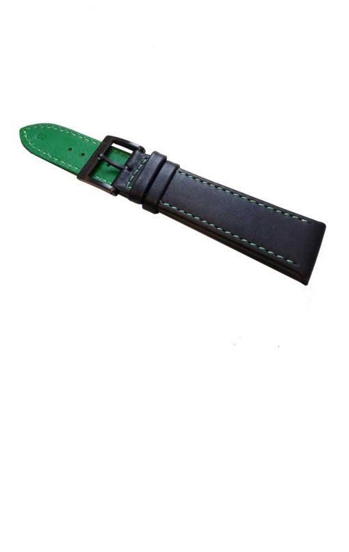Grönsvart klockarmband