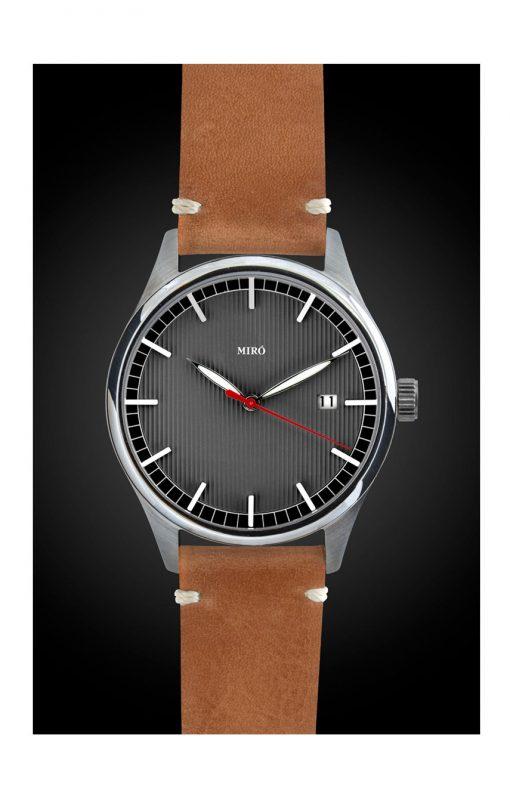 miro watches lead grey