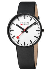 Mondaine giant black and white