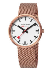 mondaine mini giant rose