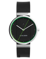 jacob jensen grön klocka