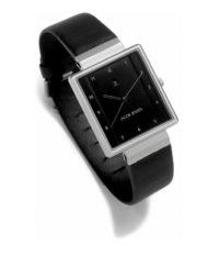 Svart fyrkantig klocka