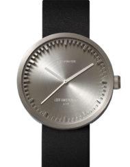 grått armbandsur