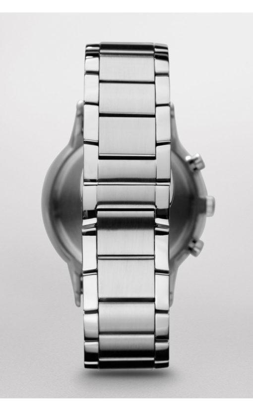 Stålklocka med kronograf armani