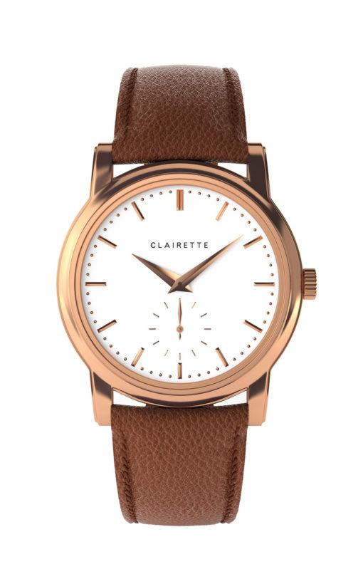 Ljus damklocka clairette watches
