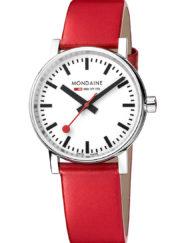 damklocka rött armband